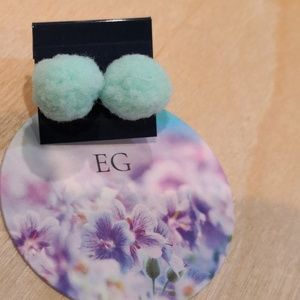 Stud Earrings.Soft and fluffy:)New!!!
